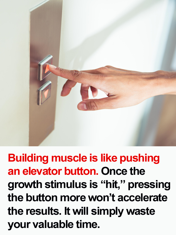 Pushing A Button On An Elevator Is Like Building Muscle Full Body Workout For Men