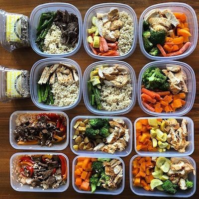 meal prep for men muscle building smoothies