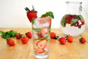 flavored water can help keep your muscles hydrated