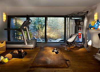use a home gym when should I workout