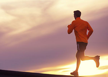 running in the sunset cardio workout for men