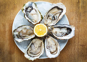 oysters testosterone boosting foods