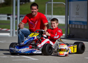 father and sun racing go karts ways celebrate father's day