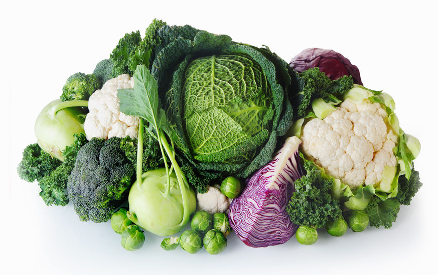 healthy vegetables help with horomonal imbalance