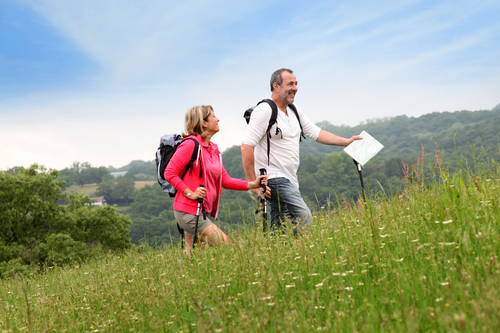 couple hiking weight loss plan for men over 50