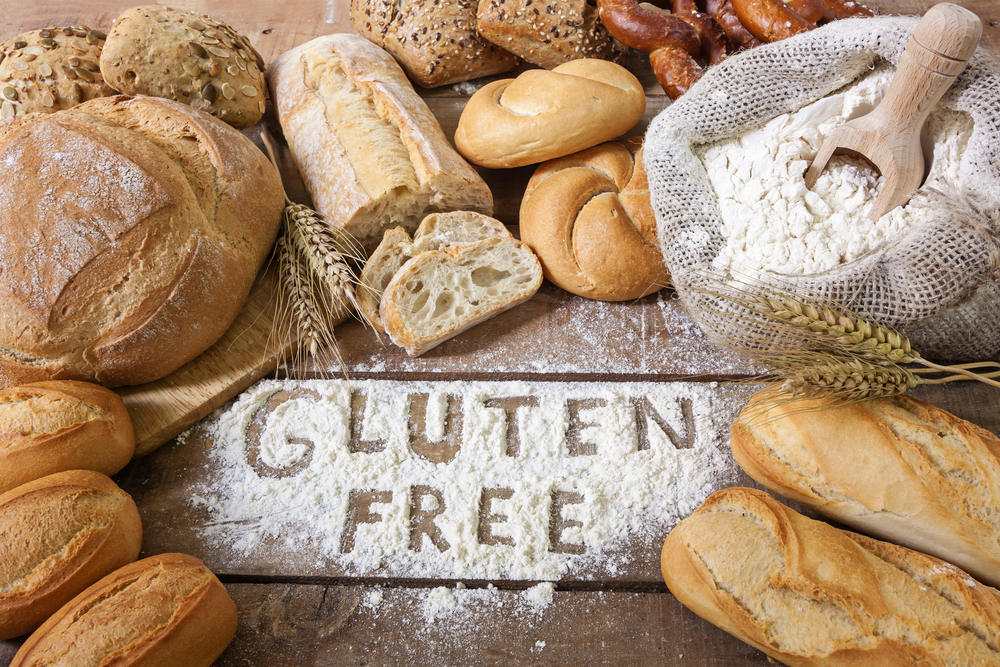 gaining muscle on a gluten free diet