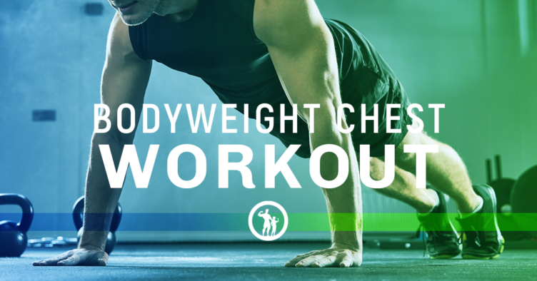 bodyweight chest exercises
