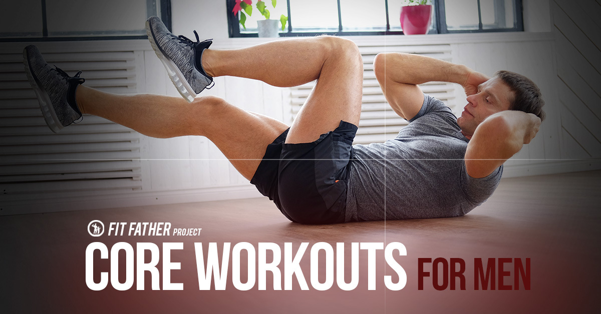 core workouts for men